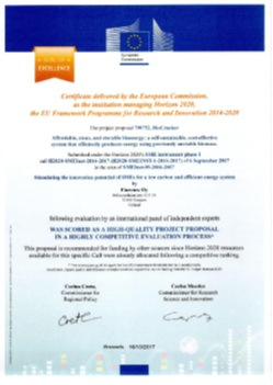 H2020 seal of excellence